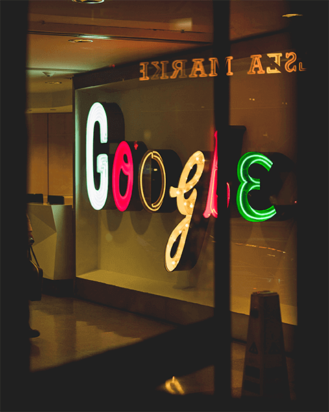 Google Headquarters New York Signage