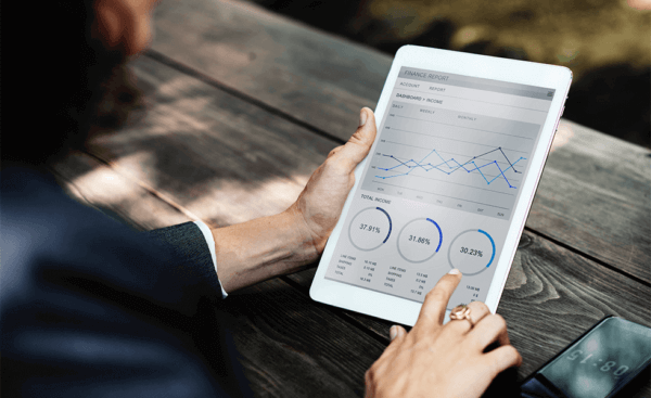 Website Analytics software is often mobile optimized for viewing on the go