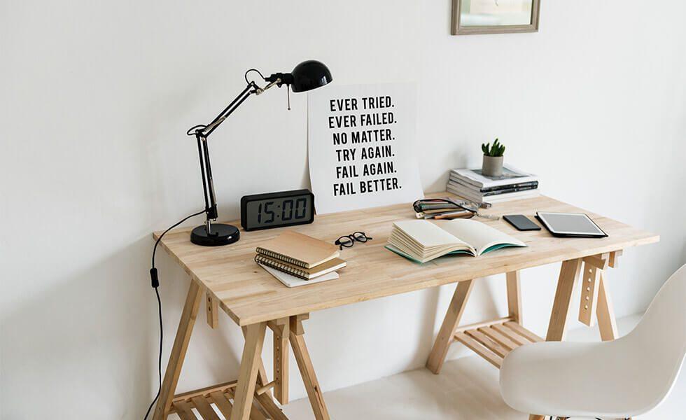 Ever Tired. Ever Failed. No Matter. Try Again. Fail Again. Fail Better.